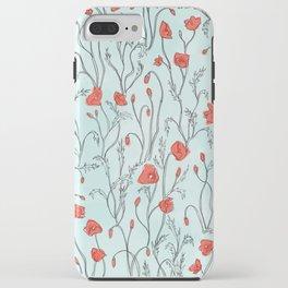 Poppy Pattern iPhone Case