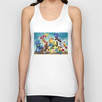 mlp Tank Tops featuring MLP X-Men by Kimball Gray