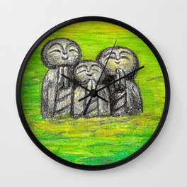 Jizo family Wall Clock