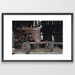 Farmll 300 Framed Art Print