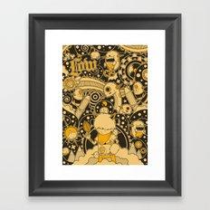 Leef Framed Art Print