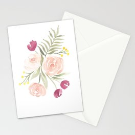 Watercolor Florals for Spring? Groundbreaking. Stationery Cards