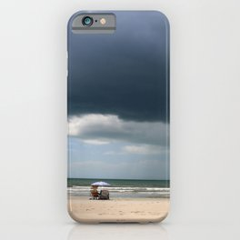 A Peaceful Day At The Seaside iPhone Case