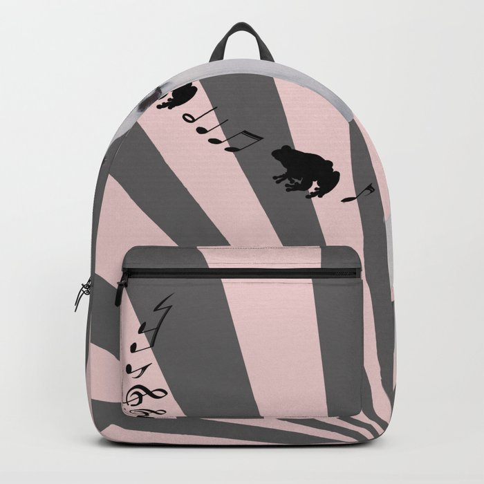 SINGING FROGS Backpack