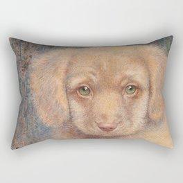 Retriever puppy Rectangular Pillow