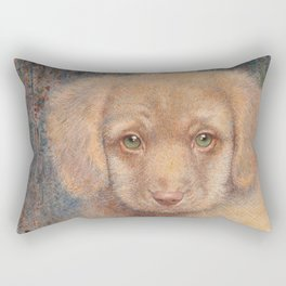 Retriever puppy Rectangular Pillow