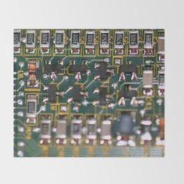 Circuit Board Throw Blanket