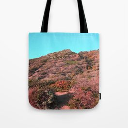 Point Dume Unreality Tote Bag