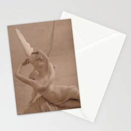 Psyche Revived by Cupid's Kiss Stationery Cards