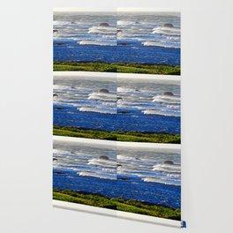 Wind Blown Breakers Wallpaper