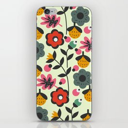 Floral sweetness iPhone Skin
