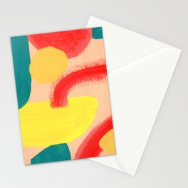 Abstract Figures Stationery Cards