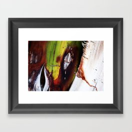 Tropical Textures  Framed Art Print