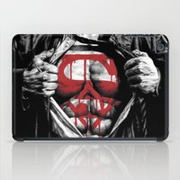 daenerys iPad Cases featuring Superman Blood Logo by Veylow