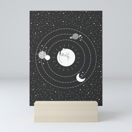 The Space Cat Mini Art Print