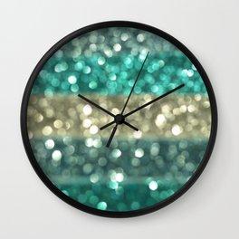 Ombre Blue... Wall Clock