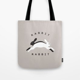 Rabbit Rabbit Original Illustration Tote Bag