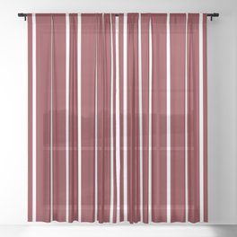 For yesterday in wine Sheer Curtain