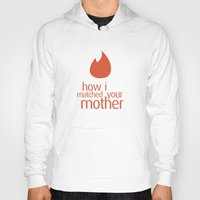 how i met your mother Hoodies featuring how i matched your mother by Aldo Cervantes Saldaña