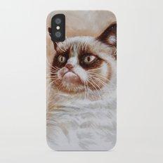Grumpycat Slim Case iPhone X