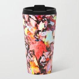 Maple foliage texture Travel Mug