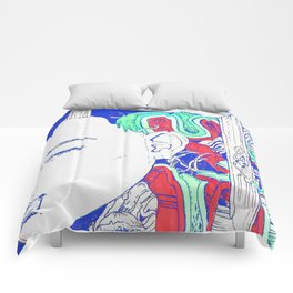 It's kind of funny, it's kind of sad Comforters