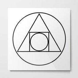 Philosopher's Stone Metal Print