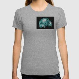 Green Inverted Kitten Sku T-shirt