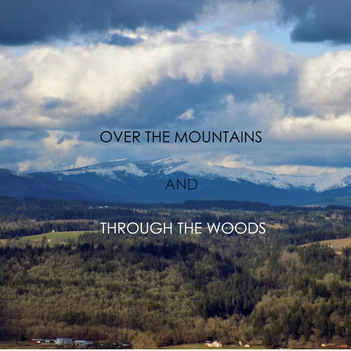 Over the Mountains and Through the Woods Comforters