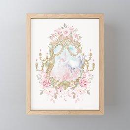 Unicorn Fairy Tale Enchantment Framed Mini Art Print