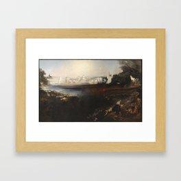 John Martin,  The Last Judgement 1853 Framed Art Print