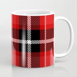 Red + Black Plaid Coffee Mug