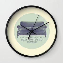 week Wall Clock