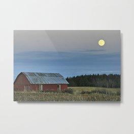 Vermont Full Moon Metal Print