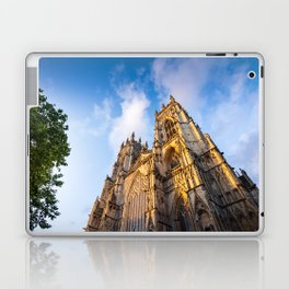 York Minster Cathedral in York, England Laptop & iPad Skin