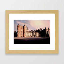 Holyrood House Framed Art Print