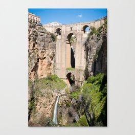 Puente Nuevo Canvas Print
