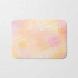 Re-Created Twisted SQ XXXI by Robert S. Lee Bath Mat
