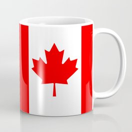 Canadian National flag, Authentic color and 3:5 scale version Coffee Mug