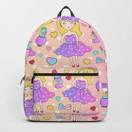 Fashion Sweet Girl Doll Backpack