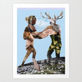 Heroes & Villains Art Print