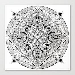 Lost Mandala  Canvas Print