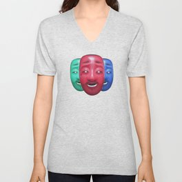 3 Sad Boys Unisex V-Neck