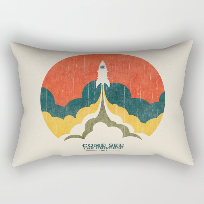 Come See The Universe Rectangular Pillow