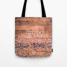 Wood Mandala I Tote Bag