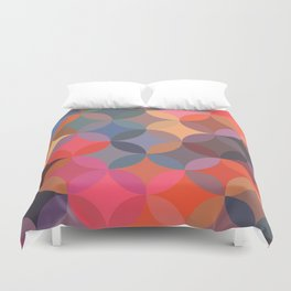 Moroccan pattern multicolor Duvet Cover