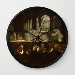 "Edgar Degas ""The Ballet from ""Robert le Diable"""" Wall Clock"