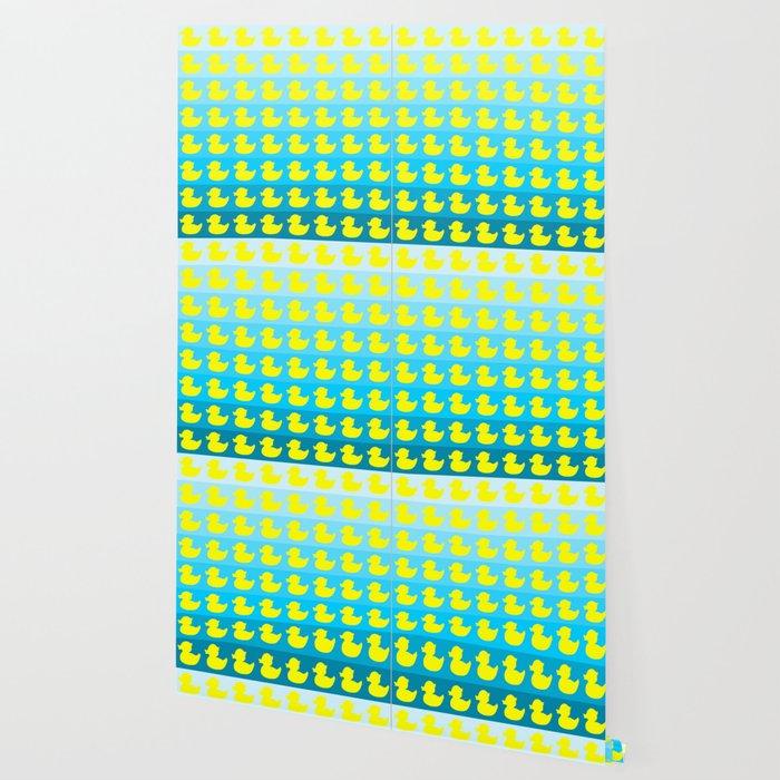 duck pattern Wallpaper