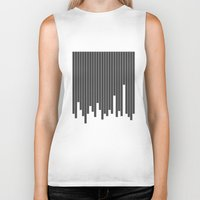 cityscape Biker Tanks featuring Cityscape by The Blonde Dutch Girl