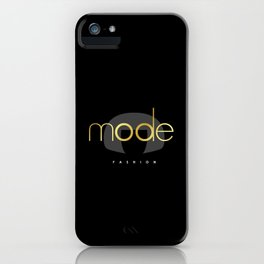 Edna Mode Fashion Dark Gold iPhone Case